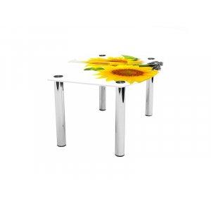 Журнальный стол бочка Sunflower 110х83