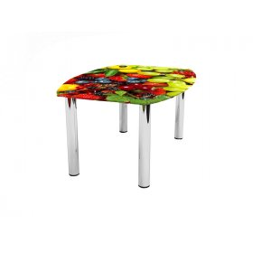 Журнальный стол бочка Wood berry 70х53