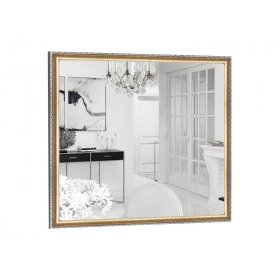 Квадратное зеркало Виктория B02 60х60