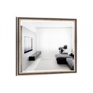 Квадратное зеркало Виктория B03-F 80х80