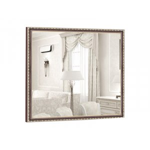 Квадратное зеркало Жасмин B04 100х100