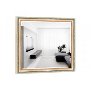 Квадратное зеркало Эстель B05-F 100х100