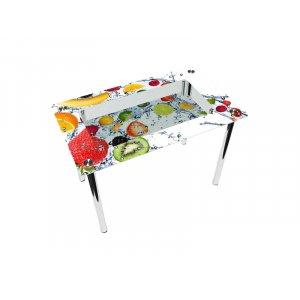 Стол прямоугольный с полкой Fruit Shake Эко
