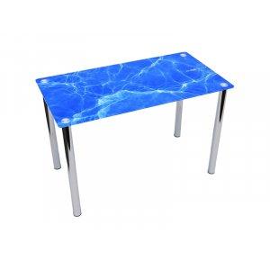 Обеденный прямоугольный стол Acqua 120х75