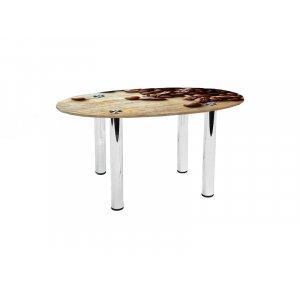 Овальный журнальный стол Coffee 70х46