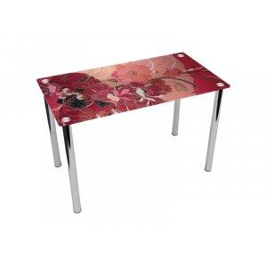 Обеденный прямоугольный стол Fiori rossi 91х61