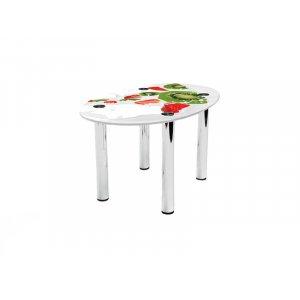 Овальный журнальный стол Fruit Milk 110х74