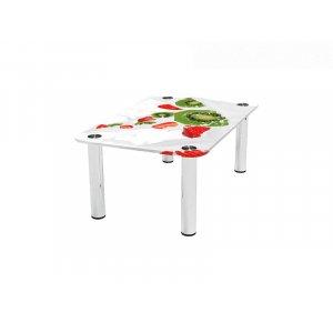 Прямоугольный журнальный стол Fruit Milk 100х62