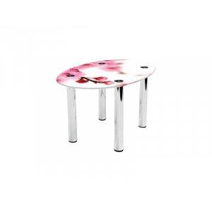 Овальный журнальный стол Sakura 80х53