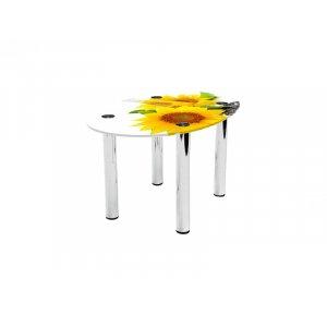 Овальный журнальный стол Sunflower 80х53