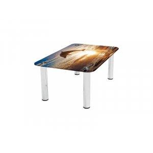 Прямоугольный журнальный стол Sunset 70х43