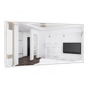 Прямоугольное зеркало Глория B02-F 140х70