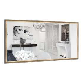 Прямоугольное зеркало Виктория B02 90х50