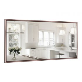 Прямоугольное зеркало Линда B03 90х50