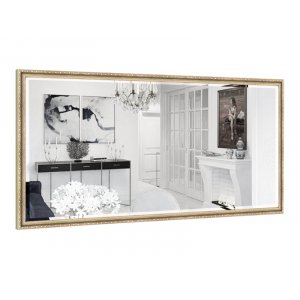 Прямоугольное зеркало Жанетт B07-F 140х70