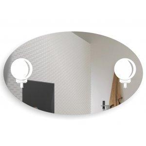Зеркало Светильники 120х70