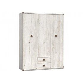 Шкаф платяной Индиана SZF 3d2s/150 дуб шуттер