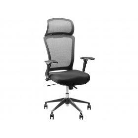 Кресло Barsky Style хром/черный