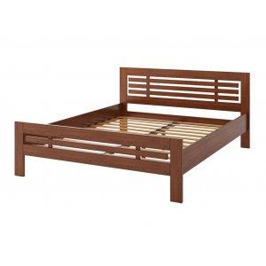 Двоспальне ліжко Фрезія 160х190 з сосни