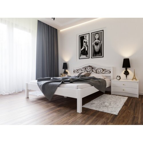 Кровать Италия с ковкой 180х200