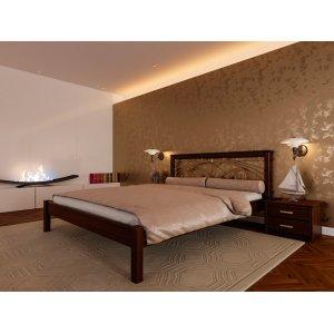 Кровать Модерн с ковкой ЧДК 180х200