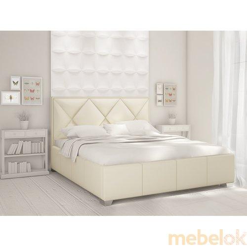 Зеркальное отображение - Мягкая кровать Веста 180х200