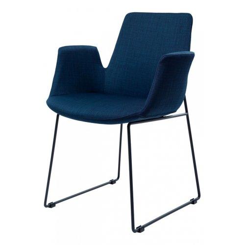 Кресло из ткани OSTIN морской синий