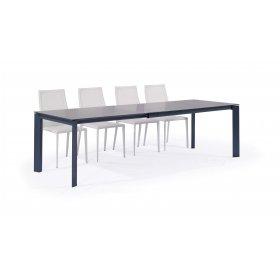 Комплект стол GLOSS GREY GLASS+4 стула NICETY