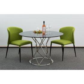 Комплект стол CRYSTAL+2 стула ARTHUR