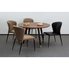 Комплект стол STUART+4 стула ARTHUR
