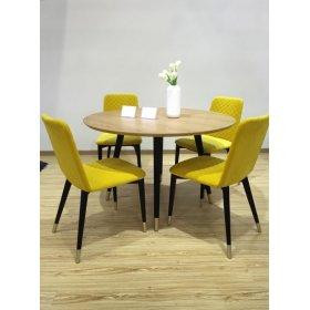 Комплект стол STUART+4 стула STELLA