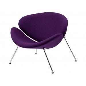 Кресло-лаунж Foster фиолетовое