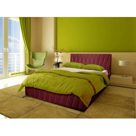 Двуспальная кровать Полина 160х190 с подъемным механизмом