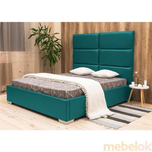 ліжко з виглядом в обстановці (Ліжко Рига 140х190)