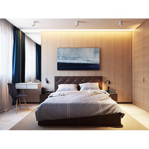Двуспальная кровать Стар 200х200 с подъемным механизмом