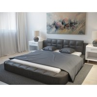 Двуспальная кровать Very Low 180х190