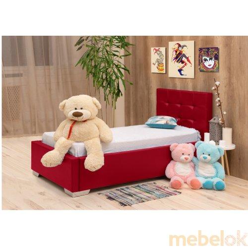 Підліткове ліжко Арлекіно 80х190 з іншого ракурсу