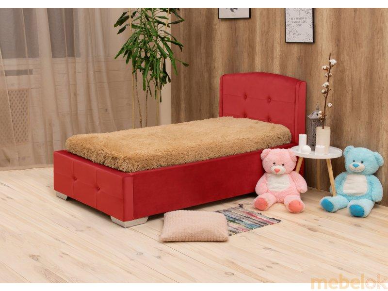 (М'яка ліжко Попелюшка 90х200) Corners