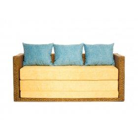 Диван-кровать Уго с желтым матрасом