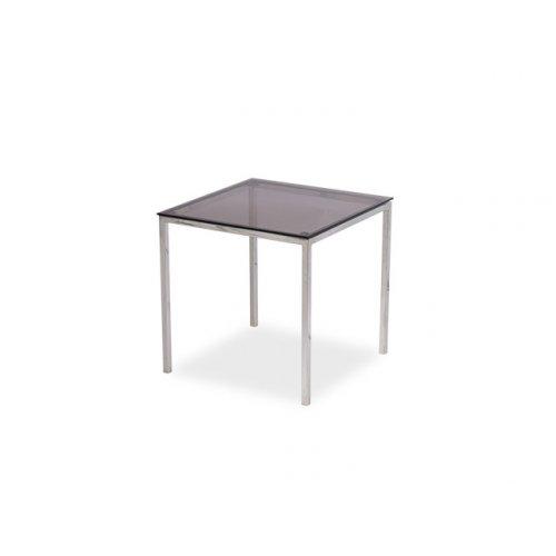 Стол Модерн-10 KS 50х50х54 со стеклянной столешницей