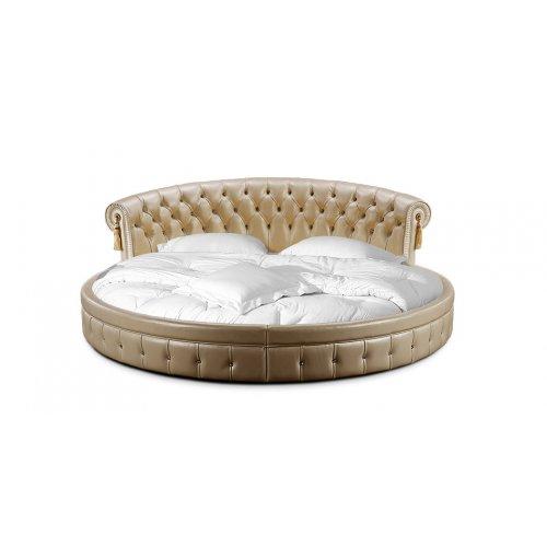 Круглая кровать Вероника 210х210
