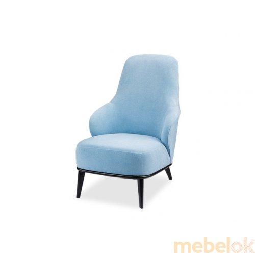 м'яке крісло з виглядом в обстановці (Крісло Аква 1М)