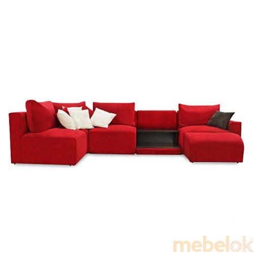 Зеркальное отображение - Модульный диван Нитли