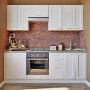 Кухня Палома белый матовый (2,2 м)