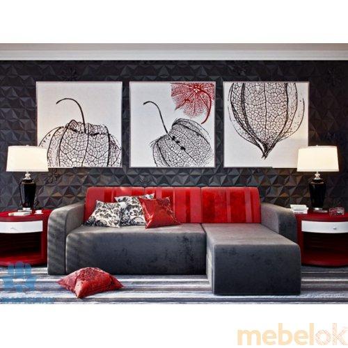 Зеркальное отображение - Угловой диван Рут-3