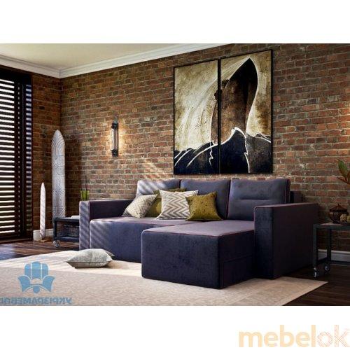 Зеркальное отображение - Угловой диван Рут-5