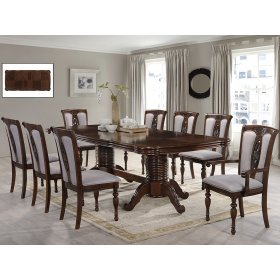Комплект стол Беарн+8 стульев Луар
