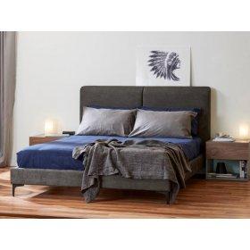 Кровать 1,6 Милано ТК грей сэнд