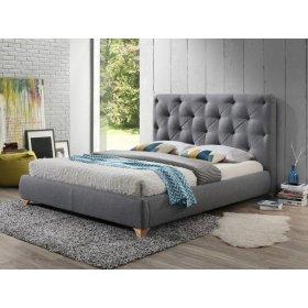 Кровать 1,6 Моника ТК грей софт
