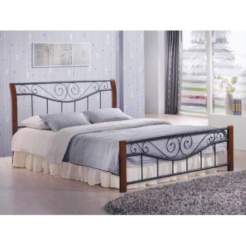Кровать Ленора каштан 180х200